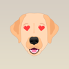download Yellow Lab Stickers