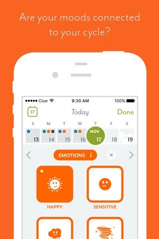 Clue - Period & Health Tracker screenshot 2