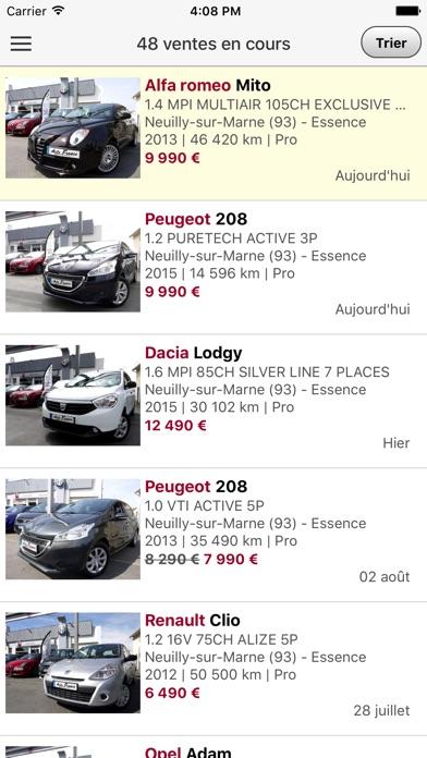 Fiat Auto FranceCapture d'écran de 2