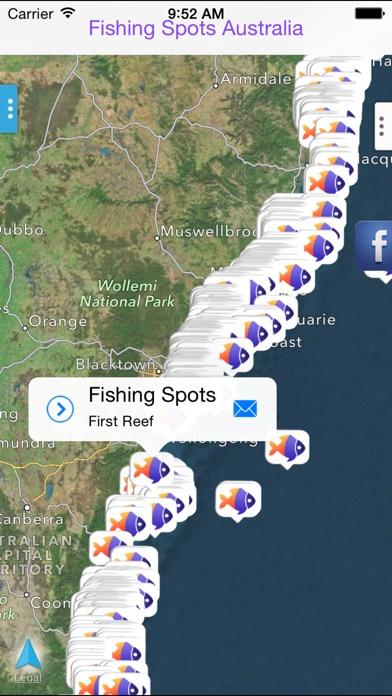 App shopper fishing spots australia navigation for Fishing spots app