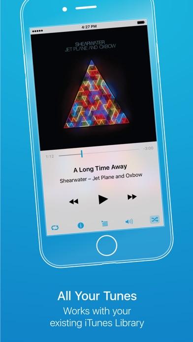 Cesium Music Player Screenshot