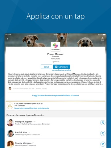 LinkedIn Job Search screenshot 2