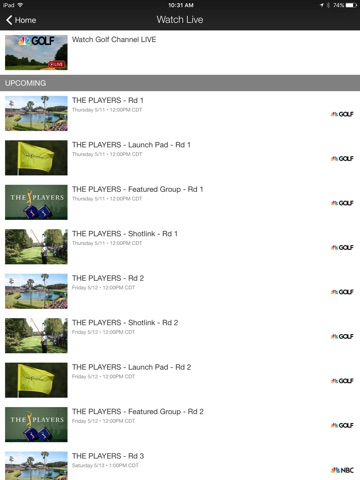 Golf Channel screenshot 4