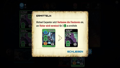 Screenshot 3 Dresden Files Co-op Card Game