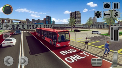 3D Bus Driving Academy Game screenshot 2