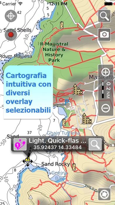 Screenshot of Aqua Map Malta - GPS marino4