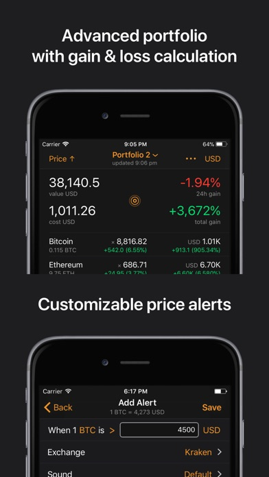 download Crypto Pro: Bitcoin Ticker apps 4