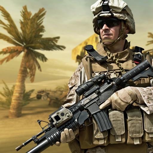 Frontline Counter Shooting Sim