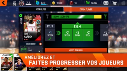 download NBA LIVE Mobile Basket-ball apps 2