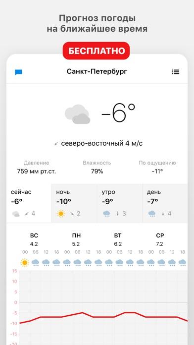 Погода 1Скриншоты 1