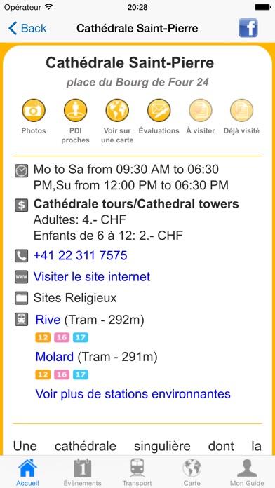 Genève: Guide de voyageCapture d'écran de 5