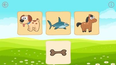 Еда животных. Игры для малышей Скриншоты3