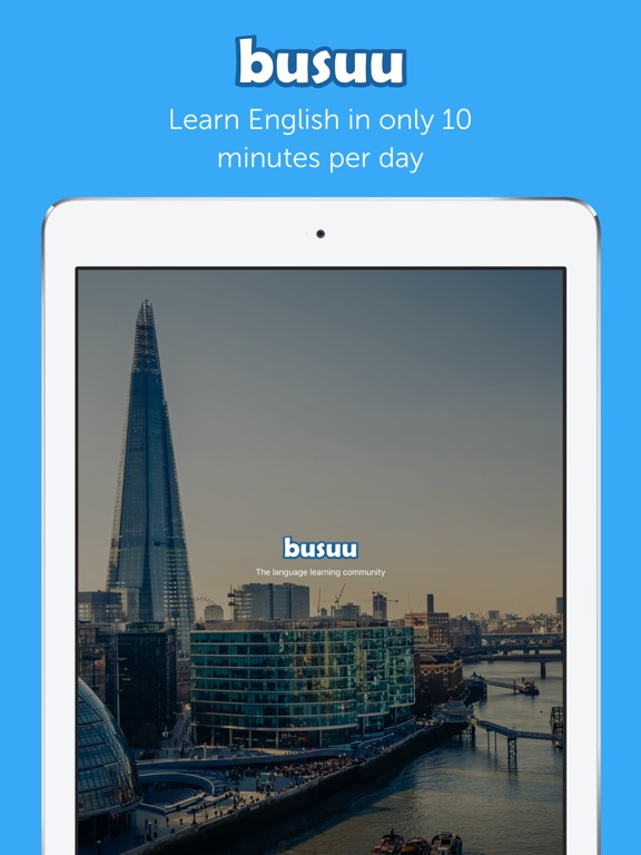 busuu - Learn to speak English Screenshots