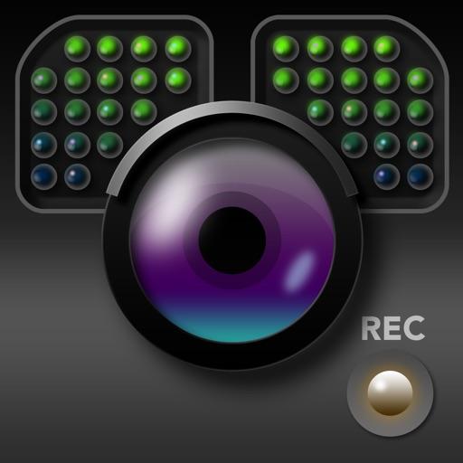 スーパー夜撮ビデオカム - 超高感度で動画撮影