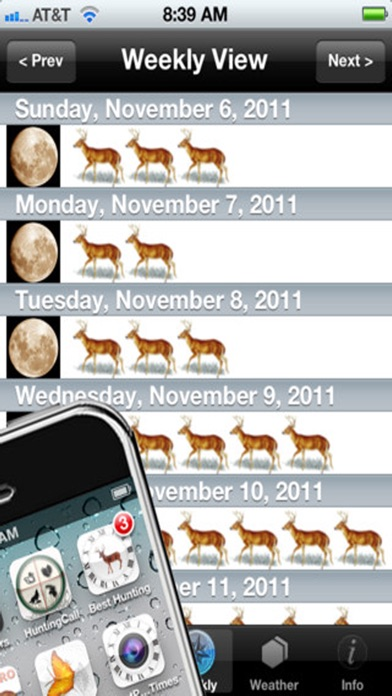 download Best Hunting Times apps 1