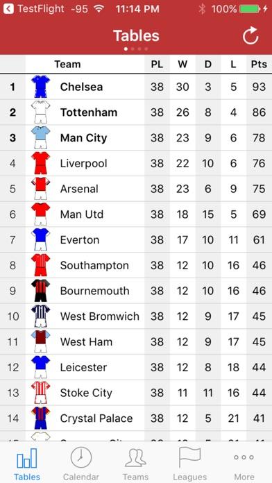 English Football 2017-2018 Screenshot
