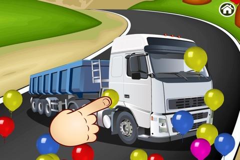 Trucks Puzzle screenshot 4