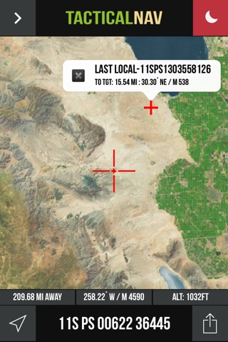 Tactical NAV screenshot 1