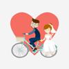 Arti Sharma - Wedding Love Stickers!  artwork