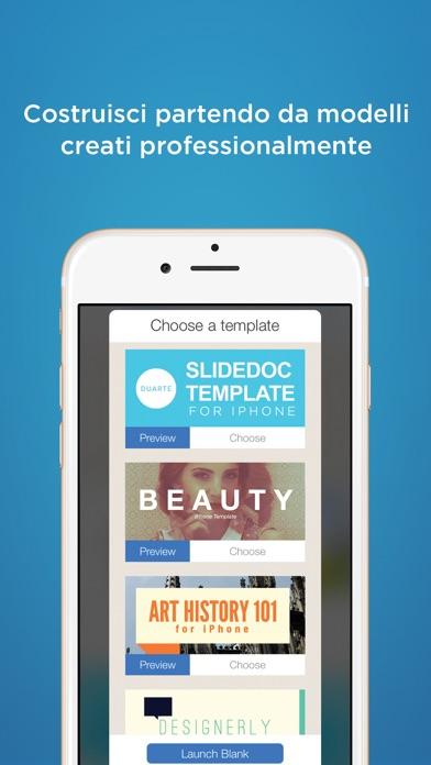 Screenshot of FlowVella App di Presentazione3