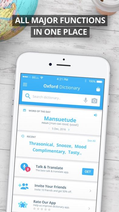 Oxford Spanish Dictionary Screenshots