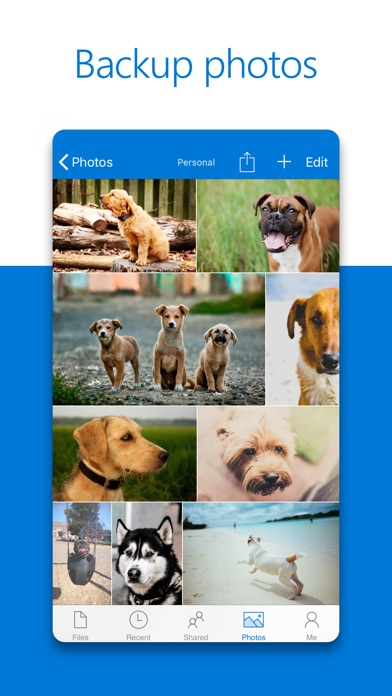 Screenshot 0 for OneDrive's iPhone app'