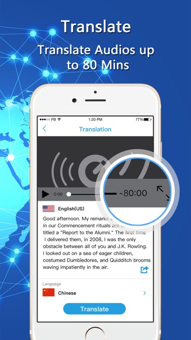 Download Video & Long Speech Translator App