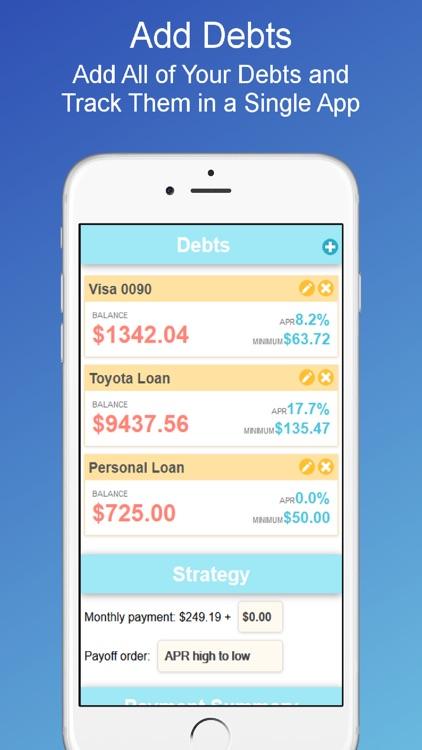 Debt Payoff Planner Calculator By Oxbowsoft Llc