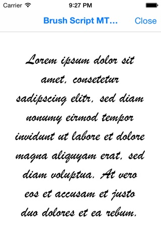 AnyFont screenshot 4