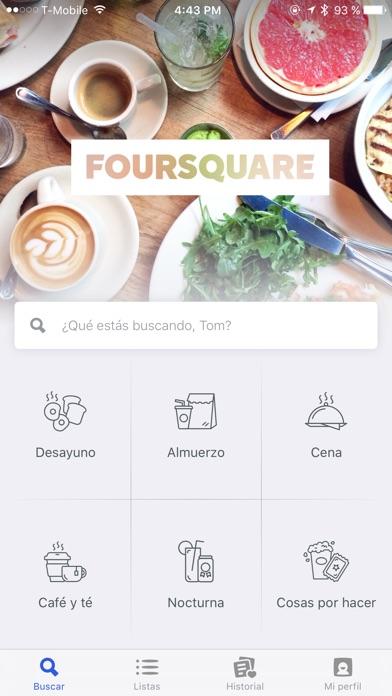 download Foursquare apps 3