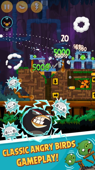 Screenshot of Angry Birds Classic4