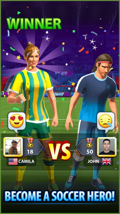 Soccer! Hero - Football Games Screenshot 5