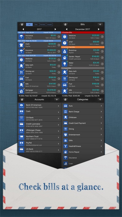 download Bills Monitor Pro apps 0