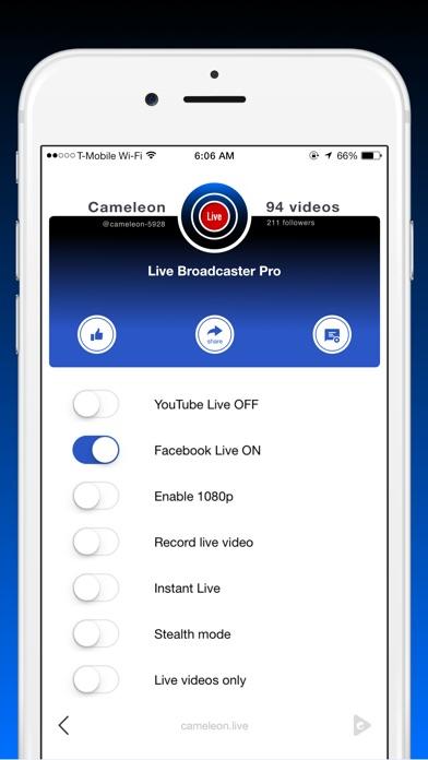 Live Pro screenshot1