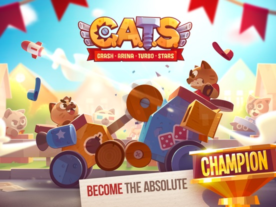 Screenshot #5 for CATS: Crash Arena Turbo Stars