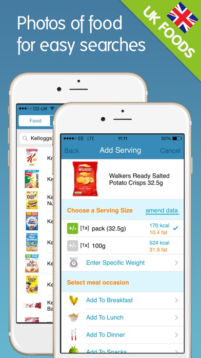 download Calorie Counter + appstore review