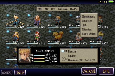 FINAL FANTASY TACTICS: THE WAR OF THE LIONS screenshot 4