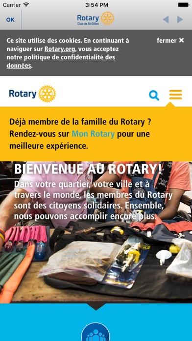 Capture d'écran de Rotary Club St-Gilles5