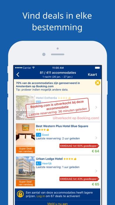 Download Booking.com Reisdeals App