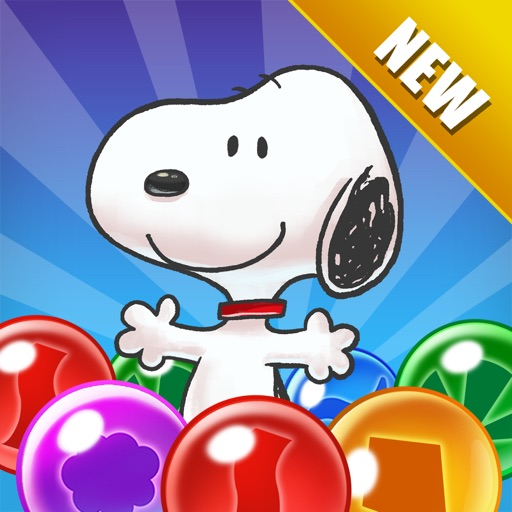 Snoopy Pop app for ipad