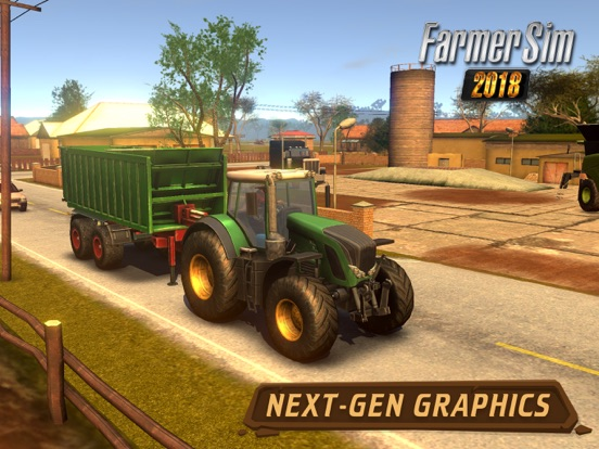 Get Your Overalls and Pitchfork: Realistic Farmer Sim 2018 Launches Image