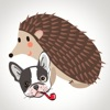 Animated Dog & Hedgehog