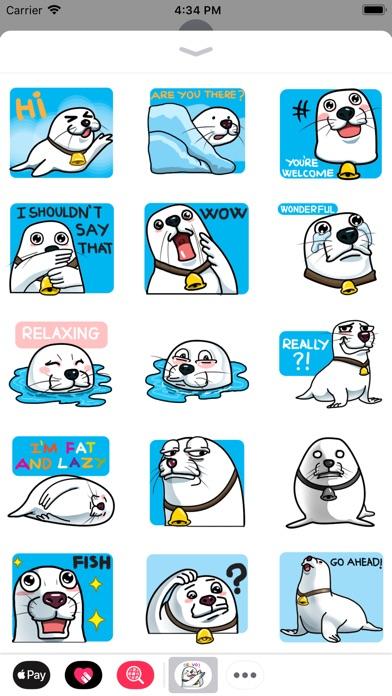 Not Seal But Seal Sticker review screenshots