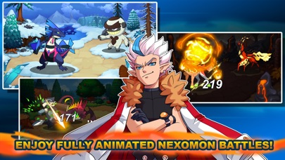 Screenshot of Nexomon App