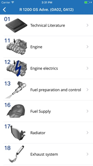 Moto parts for BMW wi... screenshot1