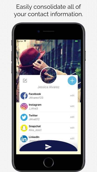 Screenshot of Fling - Contatto Condividi1