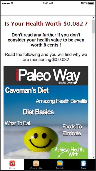 download Paleo Diet Plan & Diet Recipes apps 2