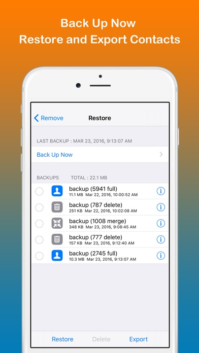 Remove duplicate contacts on the app store iphone screenshot 2 ccuart Image collections
