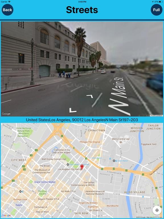 Los Angles USA Tourist Places Screenshots