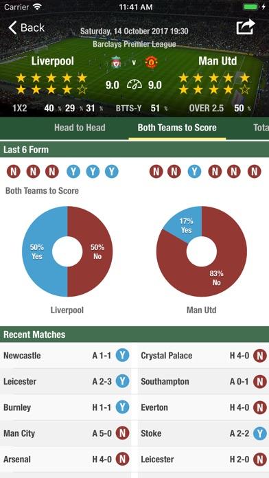 Football Forecast App Скриншоты6